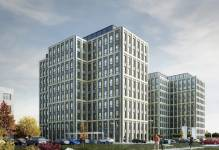 Łódź: Echo Investment wiesza wiechę nad biurowcem Symetris Business Park