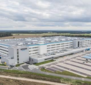 Centrum logistyczne Amazon w Świebodzinie