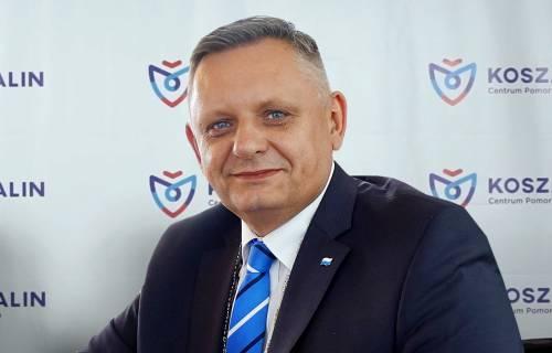 Piotr Jedliński, prezydent miasta Koszalina