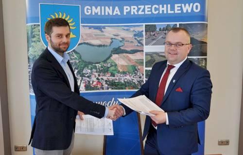 Gmina Przechlewo rozpoczyna współpracę ze Słupską SSE