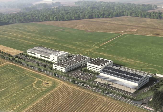 Wizualizacja koncepcji zagospodarowania terenu Strefy Inwestycyjnej w Głuchowie