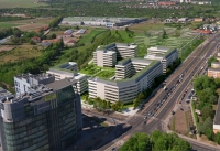 Construction of Business Garden Poznan passed halfway