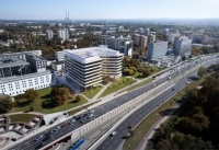 Skanska lays cornerstone for Axis office building in Krakow