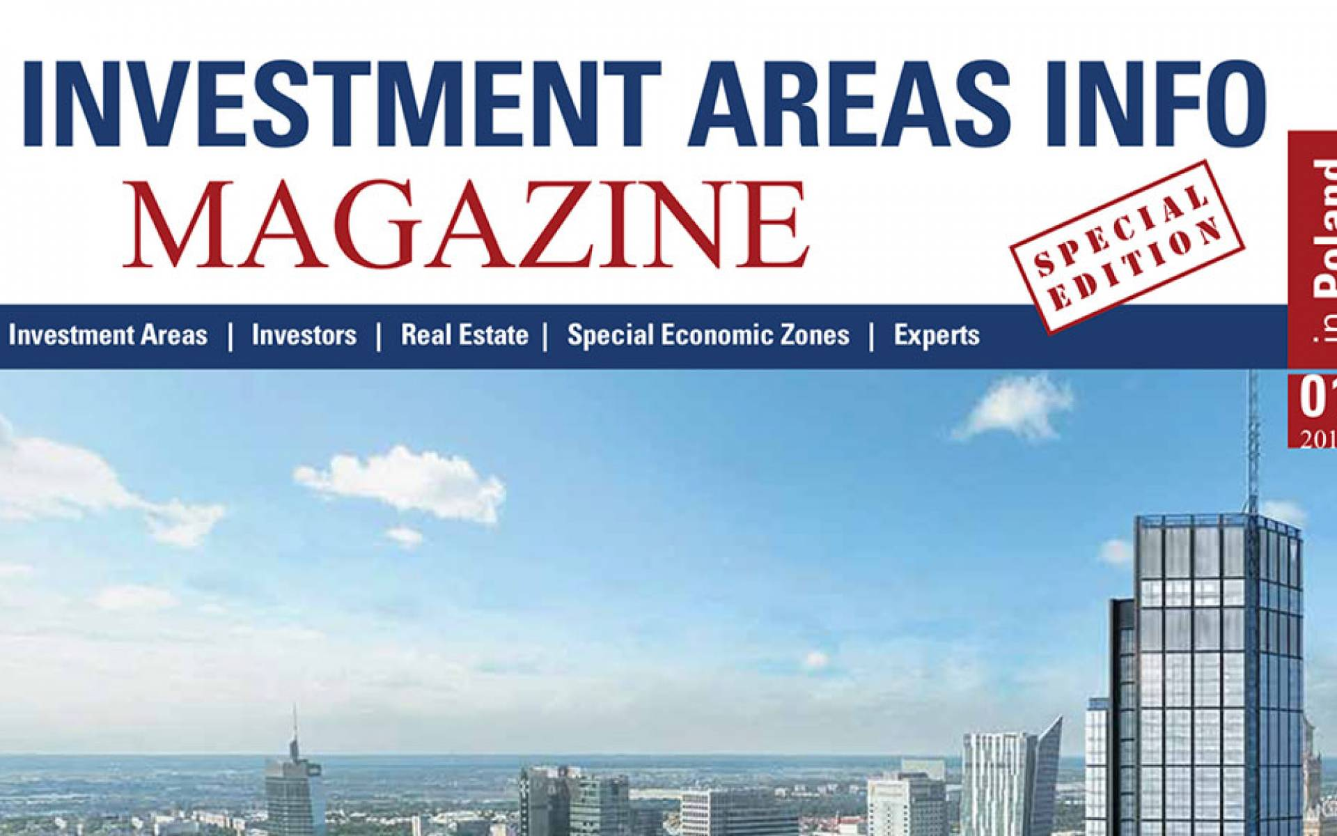 Investment Areas Info Magazine Nr. 01/2017