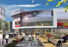 Zachodniopomorskie: Stan surowy budynku Galeria Świnoujście zrealizowany w 80 procentach