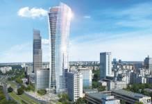 Warsaw Spire: Rozpoczęto ważny etap budowy największego powstającego w Europie biurowca