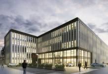 Ekologiczne miejsce spotkań biznesu - powstaje nowoczesny biurowiec
