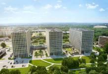 Budowa krakowskiego Podium Park dobiegła końca