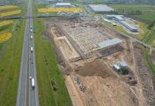 SEGRO buduje nowy magazyn centralny Tesco