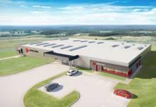 Nowa fabryka Spectra Lighting w Załuskach