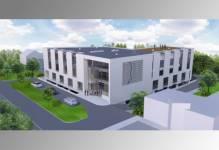 Poznań: PTB Nickel buduje biurowiec pod Inkubator Biznesu i Nauki