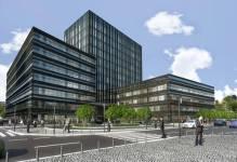 Warszawa: Wolski biurowiec LC Corp otwarty wczesną jesienią