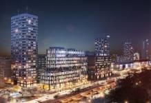 Rusza budowa Centrum Marszałkowska w Śródmieściu Warszawy