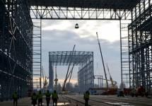 Fabryka na Ostrowie Brdowskim rośnie w oczach