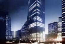 Wart 500 mln zł biurowiec Q22 powstaje w miejsce hotelu Mercure