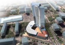 Szczecin: Hotel Dana i Hanza Tower coraz bliżej finiszu