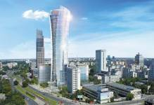 Ukończono I budynek największego kompleksu biurowego w Europie - Warsaw Spire