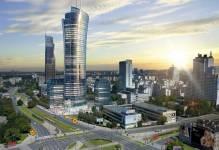 City Centre West najdynamiczniej rozwijająca się strefa Warszawy
