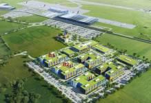 Airport City w Gdańsku - koncepcja budowy miasteczka
