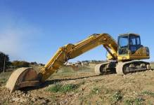 UPS wmurowuje kamień węgielny pod budowę centrum przeładunkowego w Strykowie