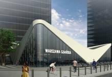 Warszawa: JSK Architekci i Marvipol przedstawiają koncepcję Dworca Gdańskiego