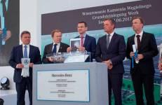 Budowa fabryki silników Mercedesa rozpoczęta