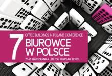 VII konferencja Biurowce w Polsce: 20-21 października w Warszawie