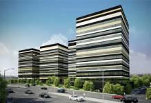 Katowice: Koniec prac nad konstrukcją Silesia Business Park