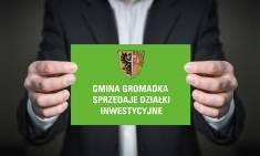 Gmina Gromadka sprzedaje działki