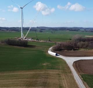 Na terenach gminy Dolice powstanie farma wiatrowa