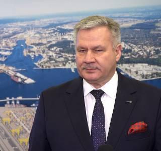 Adam Meller, prezes Zarządu Morskiego Portu Gdynia