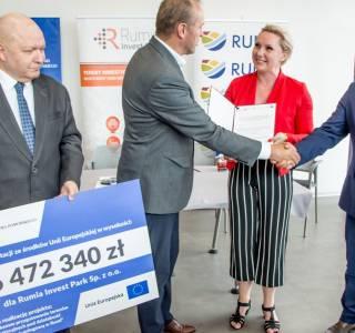 Rumia otrzyma 6,5 mln zł na kompleksowe przygotowanie terenów inwestycyjnych
