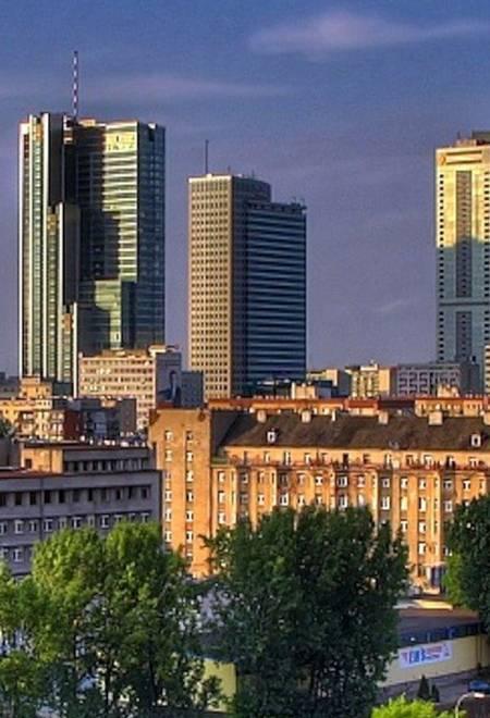 Warszawa biurowce