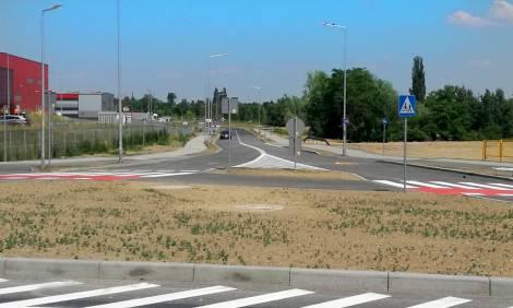 Droga łącząca z terenami produkcyjno-usługowymi w Legnicy