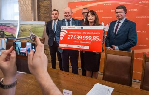 Płock otrzyma ponad 27 mln zł na przygotowanie terenów inwestycyjnych