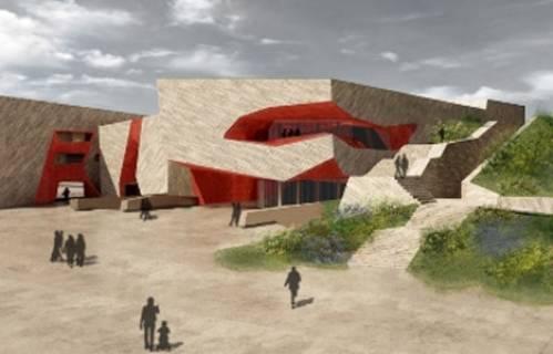 Toruń: Nad Centrum Kulturalno-Kongresowym w Jordankach wisi już wiecha