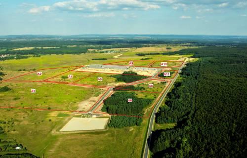 Tereny inwestycyjne Tucznawa - Dąbrowa Górnicza