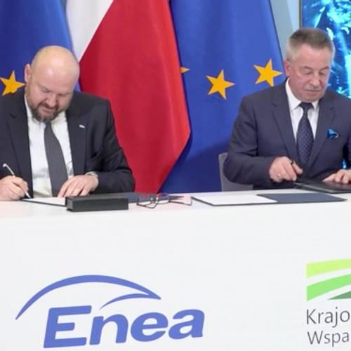Enea wybuduje wielkoobszarowe farmy fotowoltaiczne na terenach rolnych