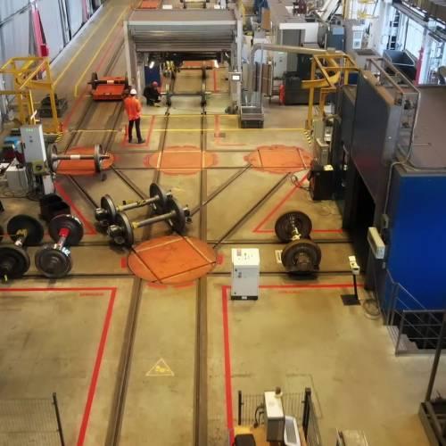 Najnowsze technologie w zakładzie DB Cargo Polska w Rybniku