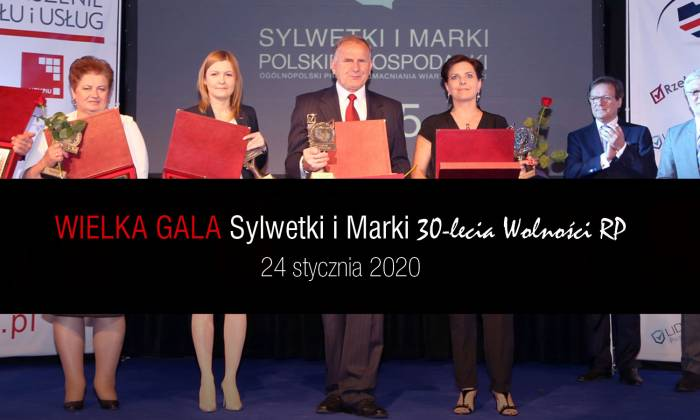 """Wielka Gala """"Sylwetki i Marki 30-lecia Wolności RP"""""""